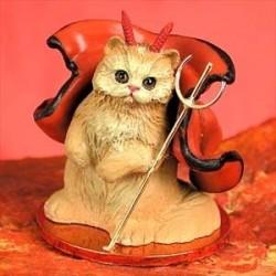 Rode Pers duivelse kat