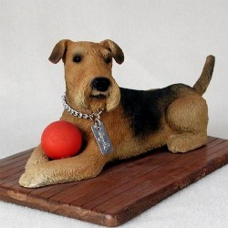 Airedale My Dog Figurine