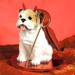 Bulldog Wit Mijn Duiveltje...