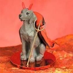 Weimaraner Mijn Duiveltje hond
