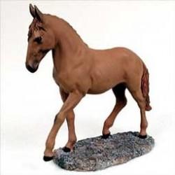 Voskleurig Paard In Beweging