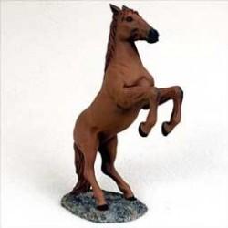 Voskleurig Paard Stijgerend