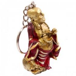 Happy Boeddha sleutelhanger