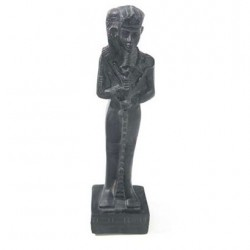 Zwart Egyptisch Khonsu Beeld