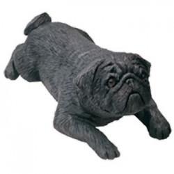 Mopshond, zwart