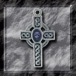 Gothic Skull Cross Hanger