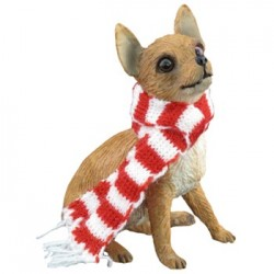 Chihuahua Tan kerstornament