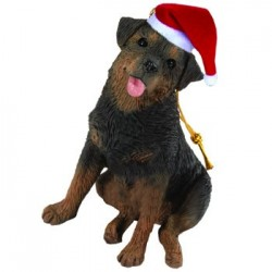 Rottweiler kerstornament